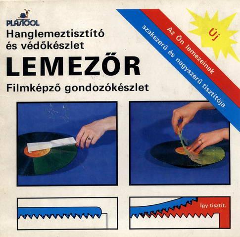Lemezőr - lemeztisztító
