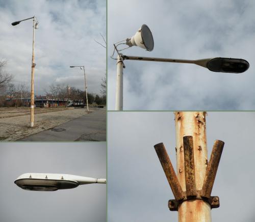 Utcai lámpák