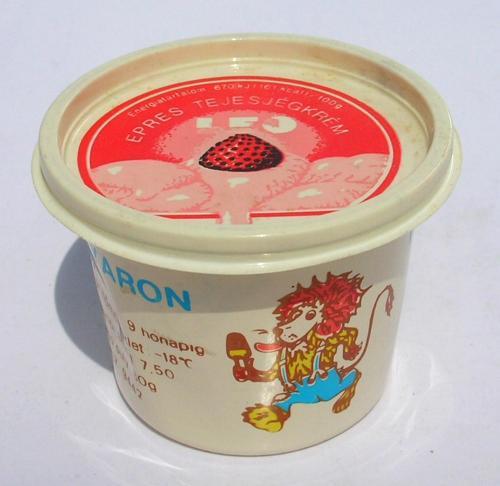 Leo jégkrém - epres