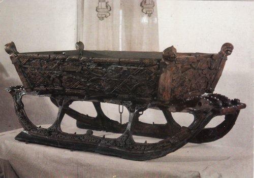 Ezer éves viking szánkó