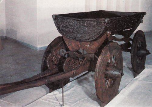 Ezer éves viking szekér