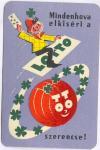 Toto Lotto kártyanaptár