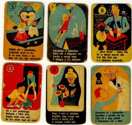 Lekvár játékkártya