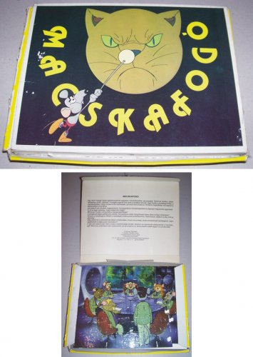 Macskafogó puzzle