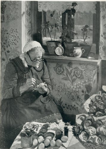 Tojásfestés Öregcsertőn