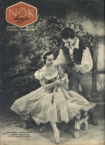 Kun Zsuzsa és Fülöp Viktor balettművészek