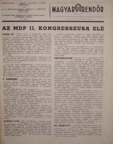 Magyar Rendőr Újság
