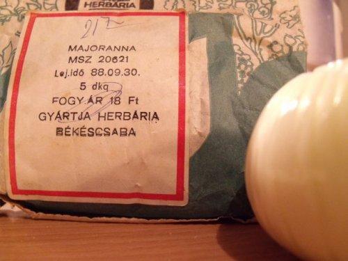 Herbária majoranna
