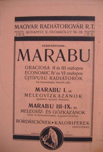 Marabu kazán reklám