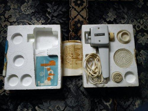 Orosz maszírozó készülék