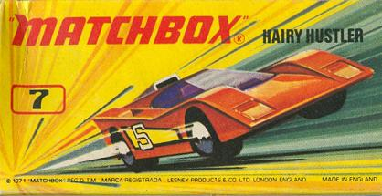 Matchbox doboz