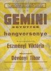 Gemini és Corvina együttesek plakát