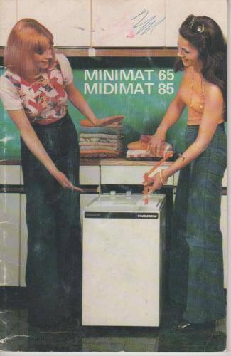 Hajdu Minimat 65 85 mosógép