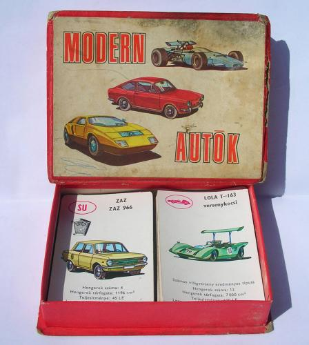 Autóskártya - Modern Autók