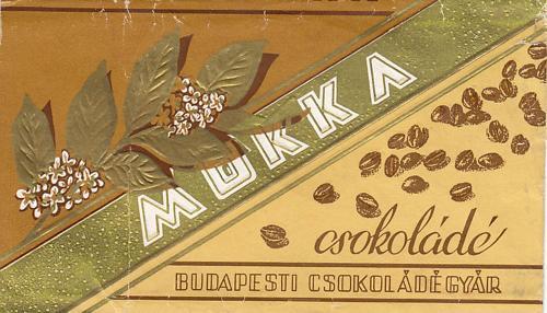 Mokka csokoládé