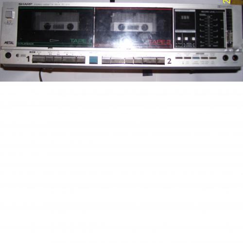 SHARP RT 1010 es kétkazettás deck