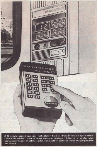 Nordmende telecontrol