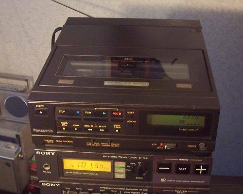 Panasonic NV-180 videomagnó - az egyik legkisebb