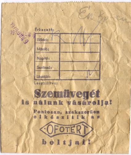 Ofotért papírzacskó