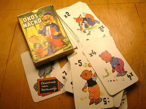Okos mackó kártyajáték