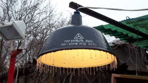 Zománc lámpa