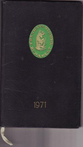 Franklin nyomda naplója