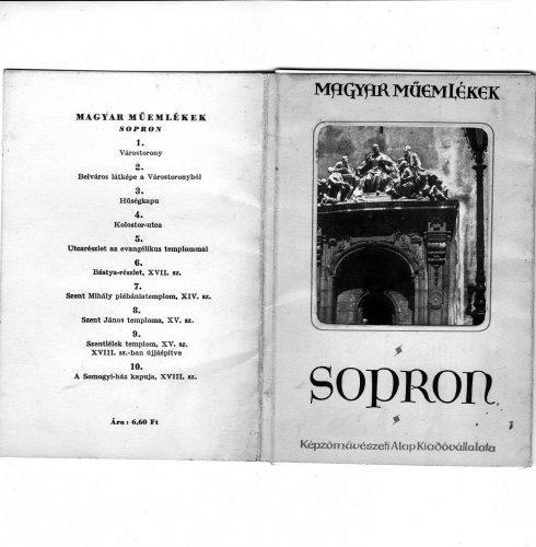 Soproni leporelló