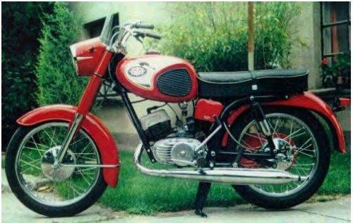 Pannonia 125 motorkerékpár