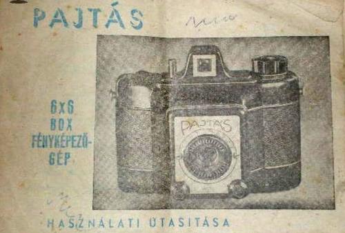 Pajtás fényképezőgép  6x6