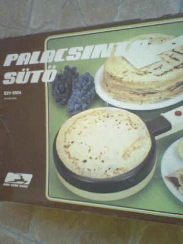 Palacsinta sütő