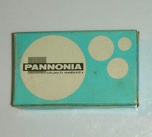 Pannonia vállalat mini szappan