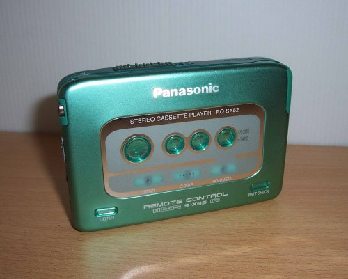 Panasonic walkman RQ-SX52