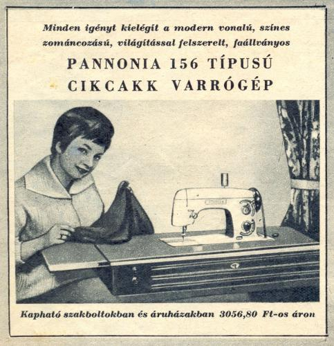 Pannonia varrógép