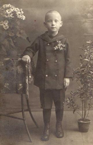 Papánk gyermekként talán 1918 ban