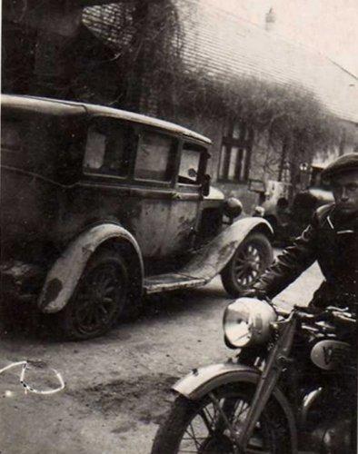 Nagypapa motorozik