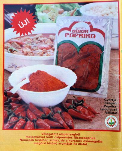 Szegedi bíbor paprika