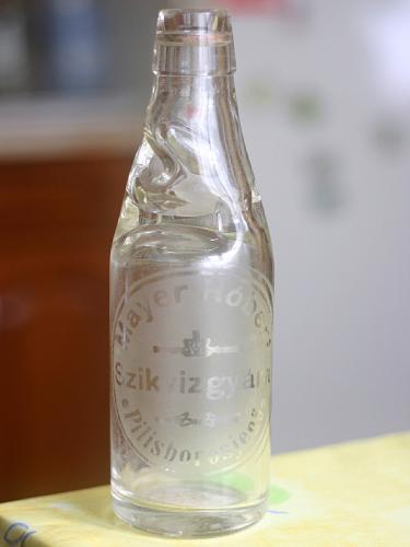 Üdítős üveg az 50-60 évekből