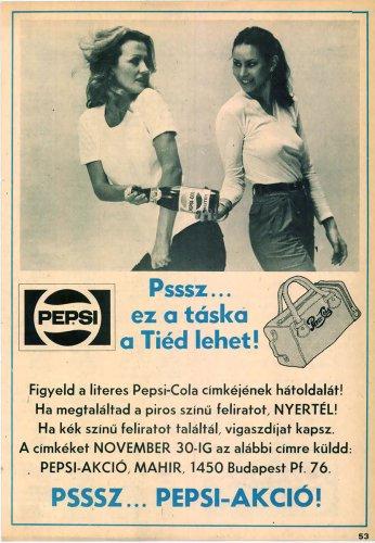 Pepsi-Cola reklám