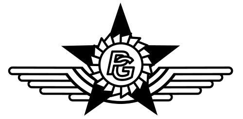 Pestvidéki Gépgyár embléma (régi)