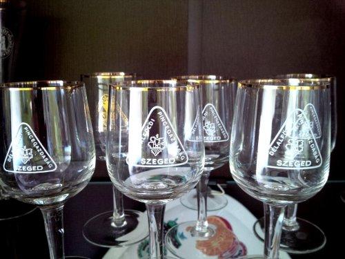 Délalföldi Pincegazdaság poharak