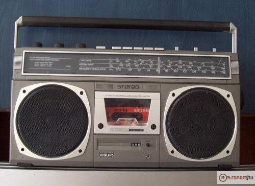 Philips rádiósmagnó AR513