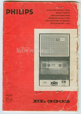 Philips kazettás magnó EL 3302