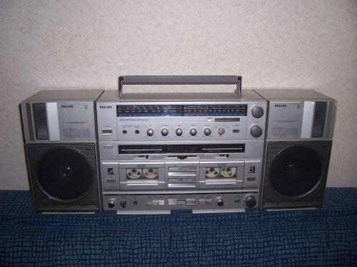 Philips D 8734 Boombox