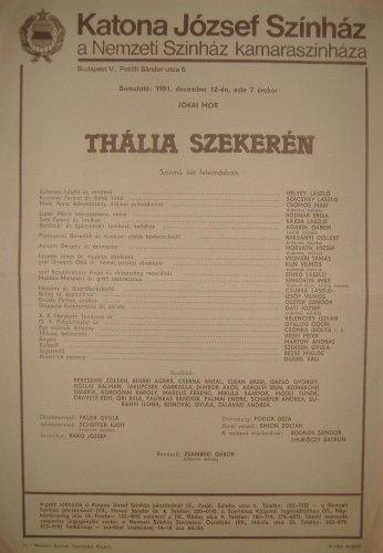 Szinházi plakát