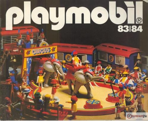 playmobil katalógus 1983/1984.