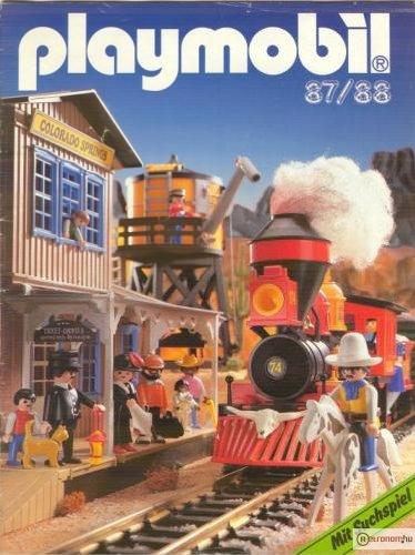 playmobil katalógus 1987/1988.
