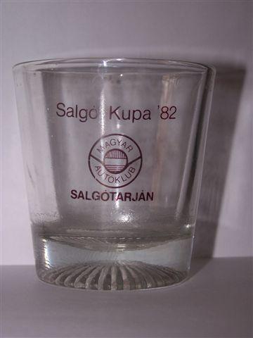 SALGÓ RALLYE POHÁR 1982