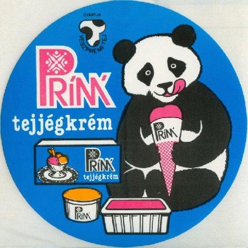 Panda Prím jégkrém