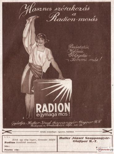 Radion mosószappan