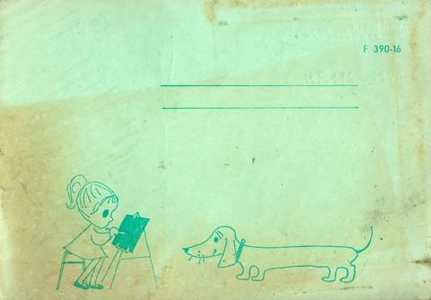 Általános iskolai rajz füzet